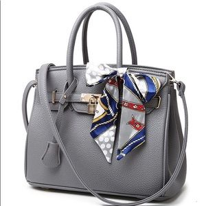 Handbags - CLASSIC STYLE PEBBLED LEATHER BIRKIN BAG HANDBAGS